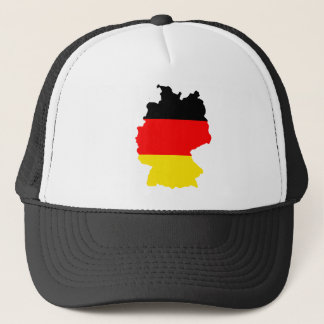 Germany Flag Map full size Trucker Hat