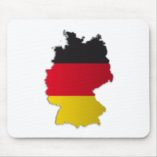 Germany Flag Map Mouse Mat