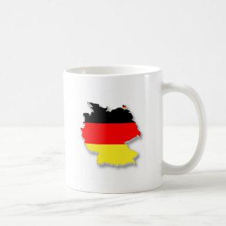 Germany Flag Map Mug