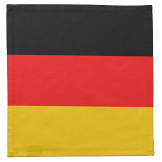 Germany Flag Napkin