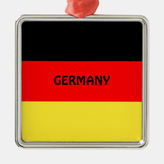 Germany: Flag of Germany Christmas Ornament