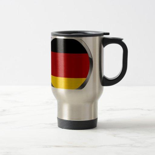 Germany Flag of germany Deutschland Flagge Mug