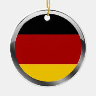 Germany Flag of germany Deutschland Flagge Round Ceramic Decoration