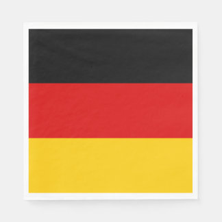 Germany flag paper napkin