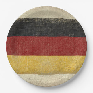 Germany Flag Paper Plates