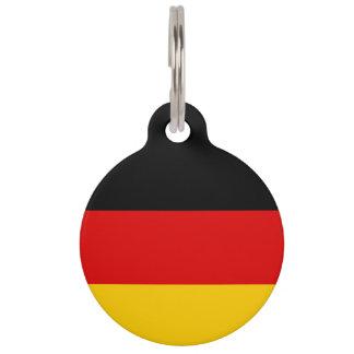 Germany Flag Pet Tag