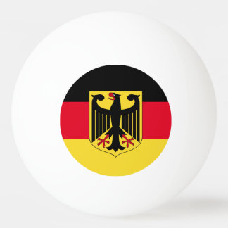 Germany Flag Ping Pong Ball