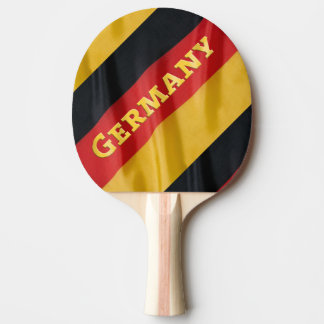 Germany Flag Ping Pong Paddle