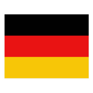 Germany Flag Postcard
