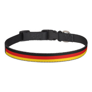 Germany flag quality pet collar