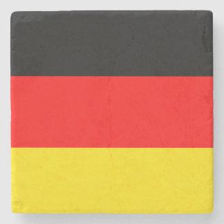 Germany flag stone coaster