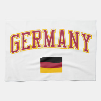 Germany + Flag Tea Towel