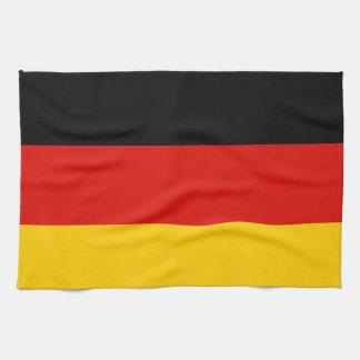 Germany Flag Towel