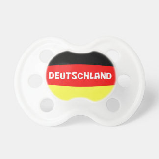 Germany Flag with wording Pacifiers