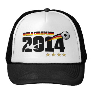 Germany Flag World Champion 2014 Soccer Cap