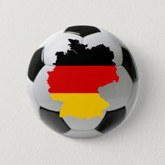 Germany football 6 cm round badge