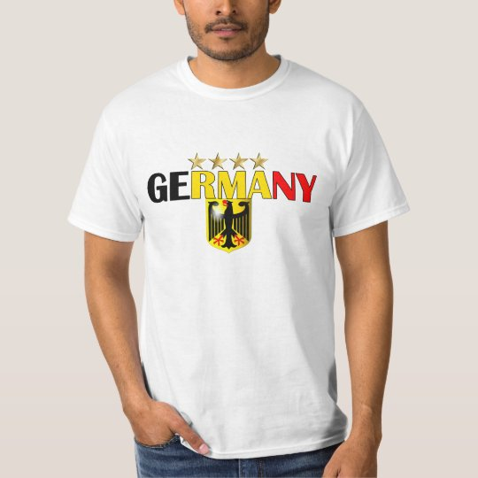 Germany Four Star Soccer Champions 2014 T-Shirt