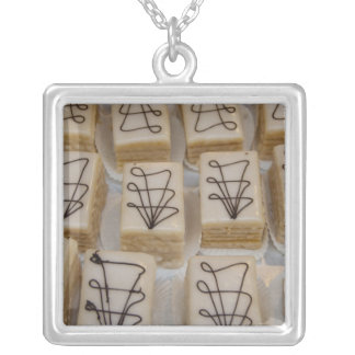 Germany, Franconia, Wertheim. Local bakery Silver Plated Necklace