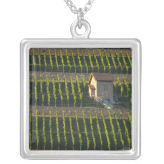 Germany, Franconia, Wertheim. Special hillside 2 Square Pendant Necklace