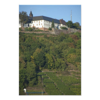 Germany, Franconia, Wertheim. Special hillside Art Photo