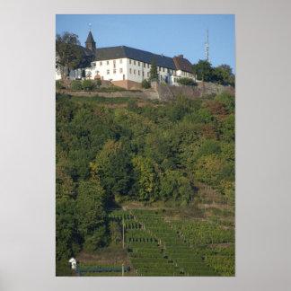 Germany, Franconia, Wertheim. Special hillside Print