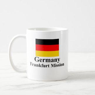 Germany Frankfurt Mission Drinkware Basic White Mug