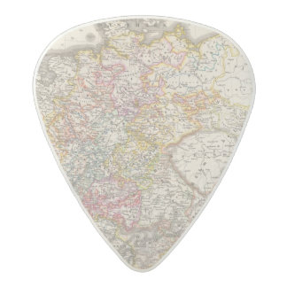 Germany from 1495 to 1618 acetal guitar pick