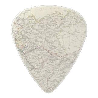 Germany general map acetal guitar pick