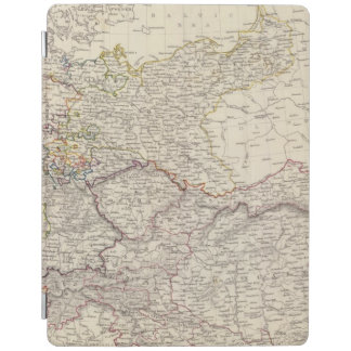 Germany general map iPad cover