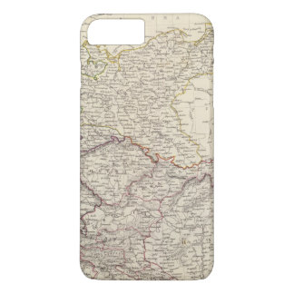 Germany general map iPhone 7 plus case