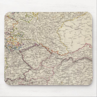 Germany general map mouse pad