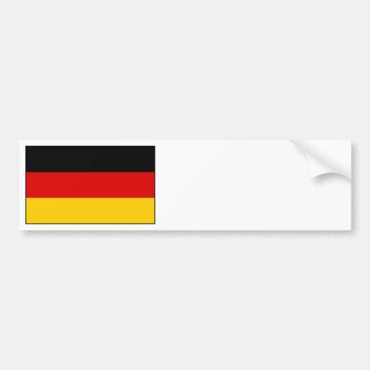 Germany – German National Flag Bumper Sticker