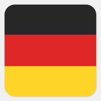 Germany – German National Flag Square Sticker