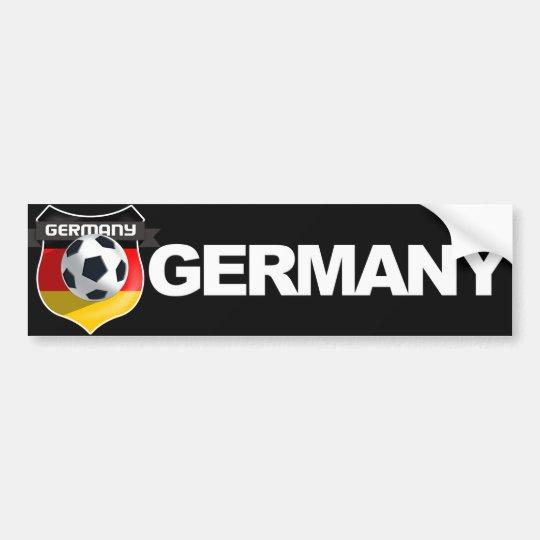 Germany German Team Bumper Sticker