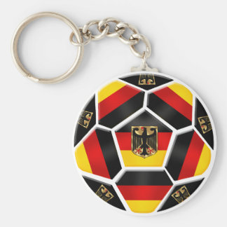 Germany - Germany Ball 2014 world cup soccer fans Basic Round Button Key Ring