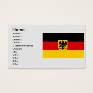 Germany , Germany Business Card