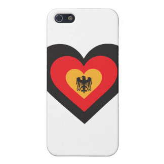 Germany Heart Cover For iPhone 5/5S