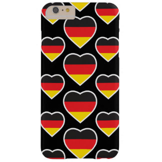 GERMANY HEART SHAPE FLAG BARELY THERE iPhone 6 PLUS CASE