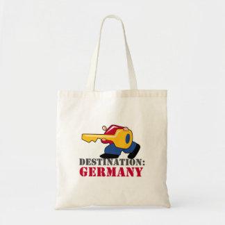 Germany Is Key Budget Tote Bag