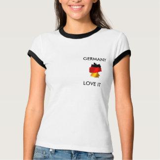 GERMANY,  LOVE IT TSHIRT