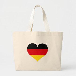 Germany Love Jumbo Tote Bag