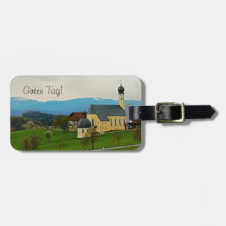 Germany Luggage Tag - Countryside