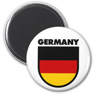 Germany 6 Cm Round Magnet