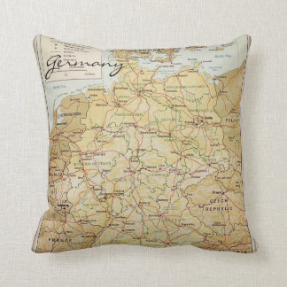 Germany map cushion