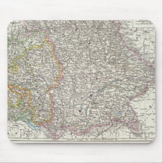 Germany Map Mouse Pad