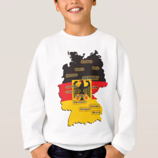 Germany Map Sweatshirt