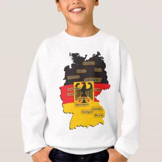 Germany Map T-shirts