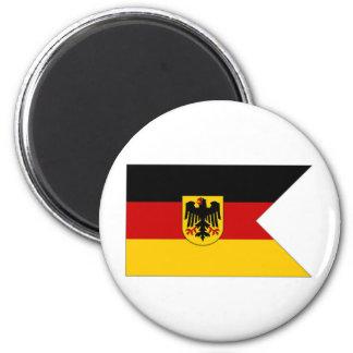 Germany Naval Ensign 6 Cm Round Magnet