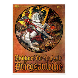 Germany Needs - Postcard