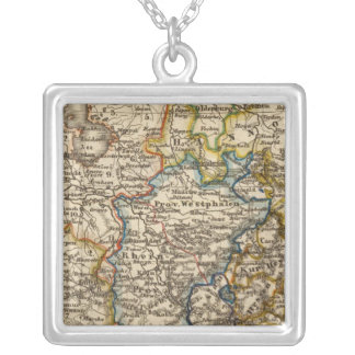 Germany, Netherlands, and Belgium Silver Plated Necklace
